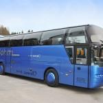 Böhm bus blau